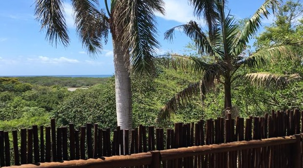 sea view, accommodation st lucia, ingwenya lodge, self catering
